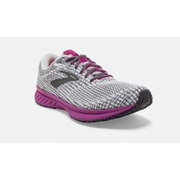 Brooks Grey/Hollyhock Revel 3 Womens Road Running Shoes 120302