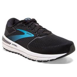 Brooks Women's Black/Ebony/Blue Ariel 20 Road-Running Shoes 120315-064