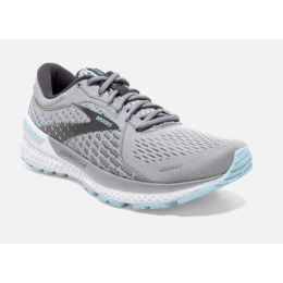 Brooks Oyster/Alloy/Light Blue Adrenaline GTS 21 Women's Road Running Shoes 120329-061