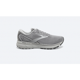 Brooks Alloy and Primer Grey with Oyster Ghost 14 Ladies Running Shoes 120356-089