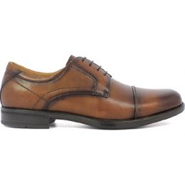 Florsheim Midtown Cap Toe Oxford Cognac Leather Mens Dress 12138-221