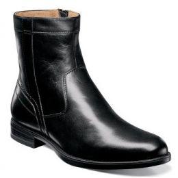 Florsheim Midtown Plain Toe Boot Black Leather Mens Dress 12140-001