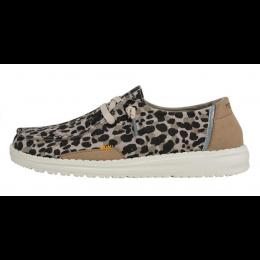 Hey Dude Beige Wendy Jungle Ladies Shoes 121410570