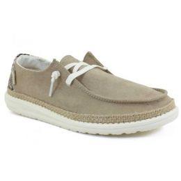 Hey Dude Women's Brown Wendy Python Slip-On Shoe 121411536