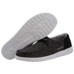 Hey Dude Micro Black Wendy Sox Womens Casual Shoes 121414969