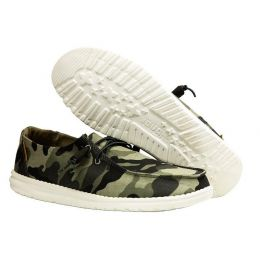 Hey Dude Camo Wendy Womens Casual Slip On Shoes 121417003
