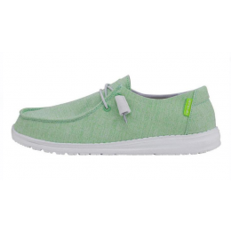 Hey Dude Summer Green Wendy Summer Linen Ladies Shoes 121418323