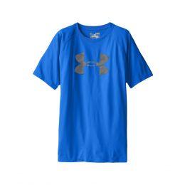 1228803-907 Ultra Blue/Graphite UA Tech Big Logo Under Armour Boys T-shirt