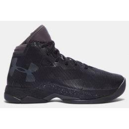 Under Armour Curry B-Ball Black/Grey Kids Basketball 1274062-006