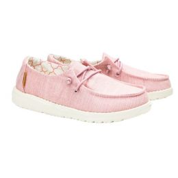 Hey Dude Cotton Candy Wendy Youth Linen Girls Casual Shoes 130125018