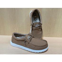 Hey Dude Wally Tan Youth Kids Casual Shoes 130131700