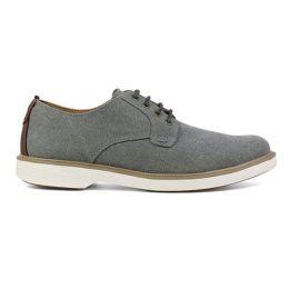 Florsheim Gray Supacush Canvas Plain Toe Oxford Mens Shoe 13326-020