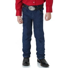 13MWZJP Denim Cowboy Cut Original Fit Western Wrangler Kids Jeans