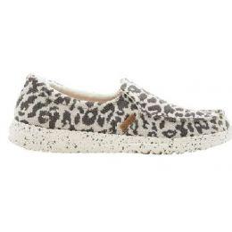 Hey Dude Women's Cheetah Misty Woven Slip On Shoes 140013091