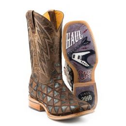 Karman Roper Horse Power Ride Fast Sole Mens Western Boots 14-020-0077-0383 BL