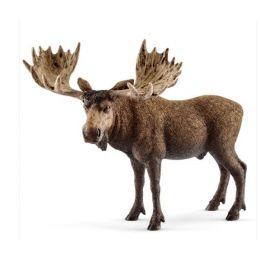 Schleich Moose Bull Toy 14781