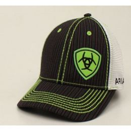 Ariat Lime Mens Pinstripe Ball Cap 1594001