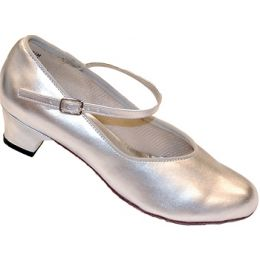 1668 Silver Henny 1.5 inch Heel Womens Square Dance Shoes
