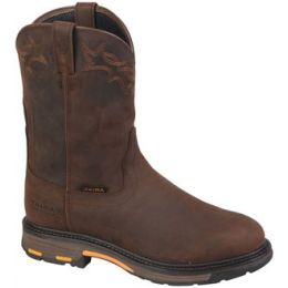 16936A(10001198) Workhog Pull-On Waterproof Ariat Mens Work Boots