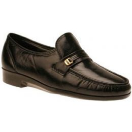 Florsheim Riva Tech Slip On Black Leather Mens Dress 17008-01