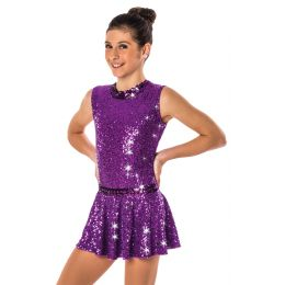 17115A THE BEAT GOES ON LEOTARD- Child Sizes