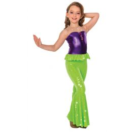 17308MM Under the Sea (Foil Midriff) - Child Sizes