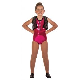 18124 POPSTAR MESH VEST- Child Sizes
