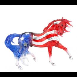 Breyer Old Glory Patriotic Horse Figurine 1845