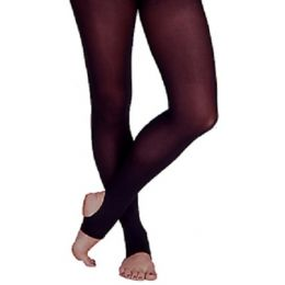 1861A Ultra Soft Adult Footless Tights (Sizes S-XL)