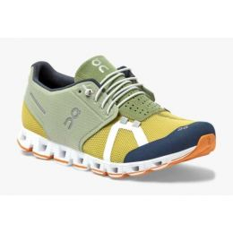 On Leaf/Mustard Cloud 70/30 Mens Comfort Running Shoes 19-99828
