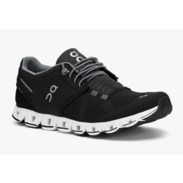 On Black/White Cloud Womens Running Shoes 190001
