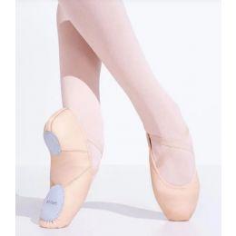 Capezio Leather Juliet Childrens Ballet Shoes 2027C