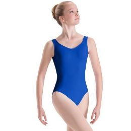 Motionwear Royal Blue Girls Sweetheart Princess Seam Silkskyn Leotard 2200C