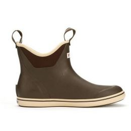 XTRATUF Chocolate/Tan Men's 6 Inch Ankle Deck Boot 22734