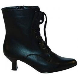 22804 Short Lace Up Victorian Boots