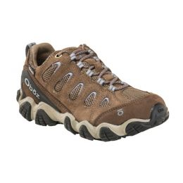 Oboz Brindle/Tradewinds Blue Sawtooth II Womens Low Waterproof Boots 23402