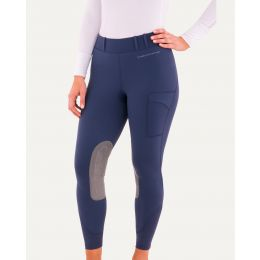 24000 Ladies Navy Balance Riding Tights