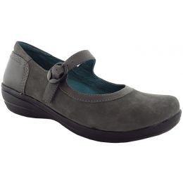 2602-950295 MISTY Grey Nubuck Leather Mary Jane Dansko Womens Shoes