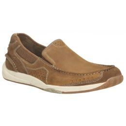 Clarks Allston Free Tan Leather Mens Casual 26106787
