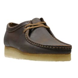 Clarks Beeswax Wallabee Mens Casual Shoes 26134200