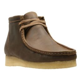 Clarks Wallabee Men's Beeswax Lace-Up Boot 26155513