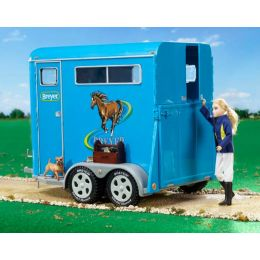 Breyer Traditional Series Two-Horse Trailer Toy 2617