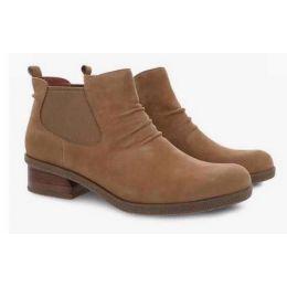 Dansko Bea Biscotti Waterproof Nubuck Womens Short Boots 2924-642300