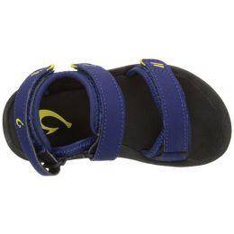 Olukai Pahu Blue Kids Sandal 30129-9H40