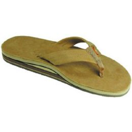 Rainbow Double Layer Sierra Brown Mens Sandals 302SLTSO-SRBR-M