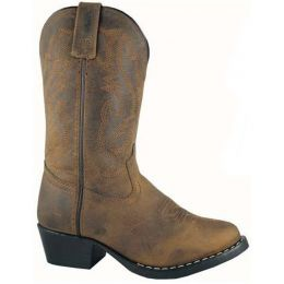 Smoky Mountain  Denver Distressed Oiled Leather Youth Western 3034Y