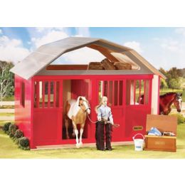 307 Breyer Horses Two-Stall Red Barn