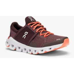 ON Plum/Dawn Cloudswift Womens Comfort Running Shoes 31.99940