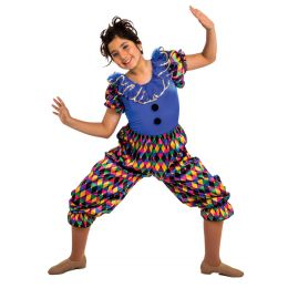 31043A JESTER LEOTARD - Adult Sizes