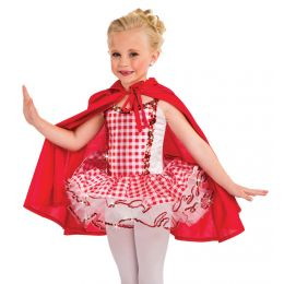 31219CAPE RED RIDING HOOD CAPE ADULT
